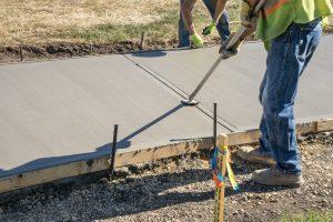 concrete sidewalk contractor collinsville il