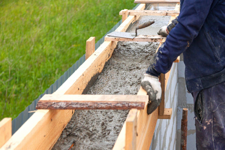 concrete retaining wall builder glen carbon il