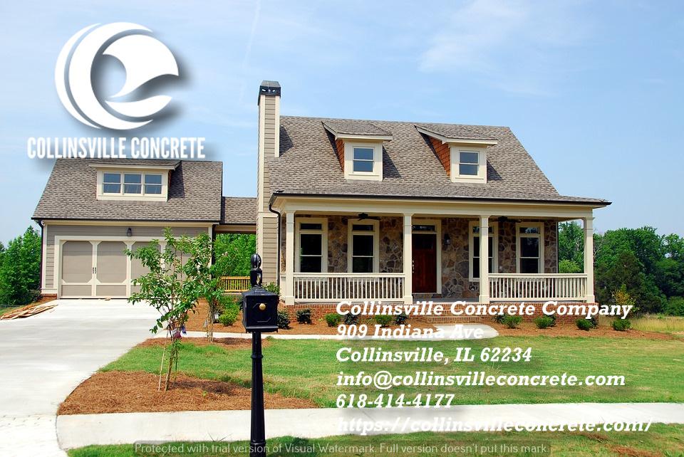 driveway builders Collinsville IL concrete company