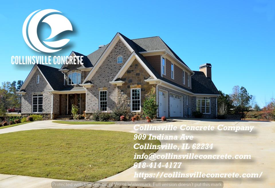 New concrete driveways Collinsville IL